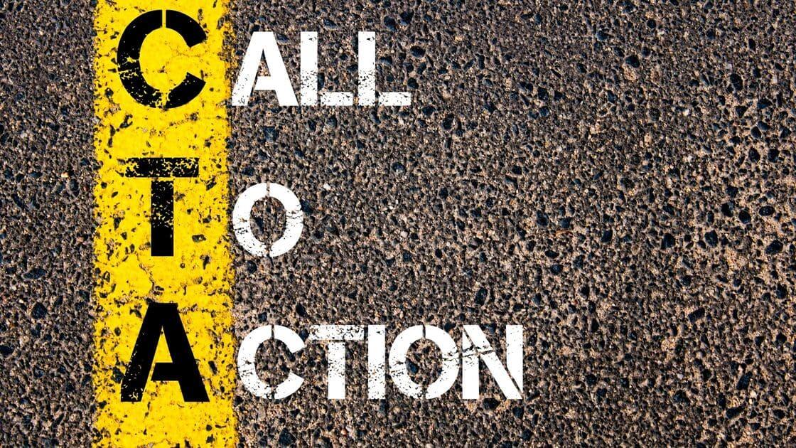 La chiamata all'azione come tecnica di persuasione