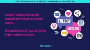 i social media per offrire servizi online