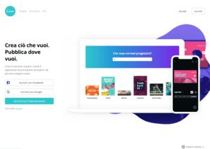 canva.com la miglior web app per design grafico