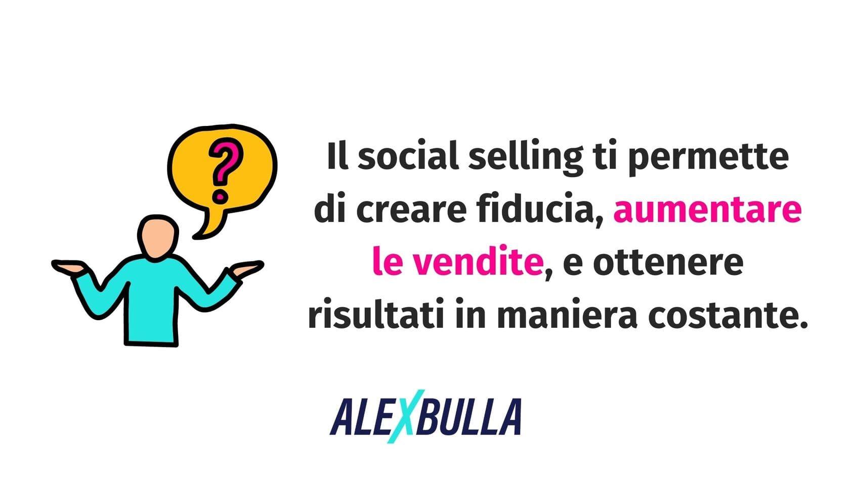 benefici del social selling