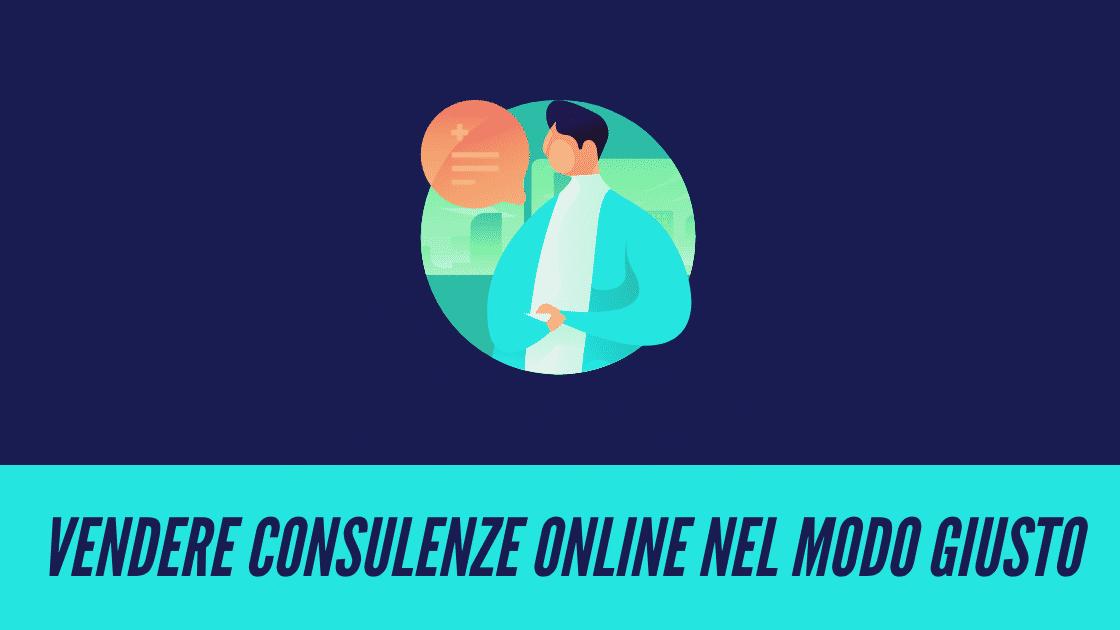 come vendere un servizio di consulenza online