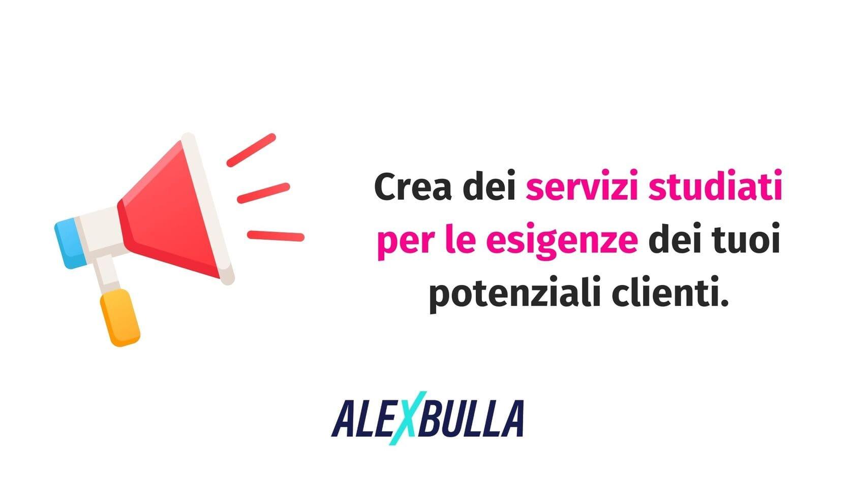 crea servizi professionali perfetti per i tuoi clienti