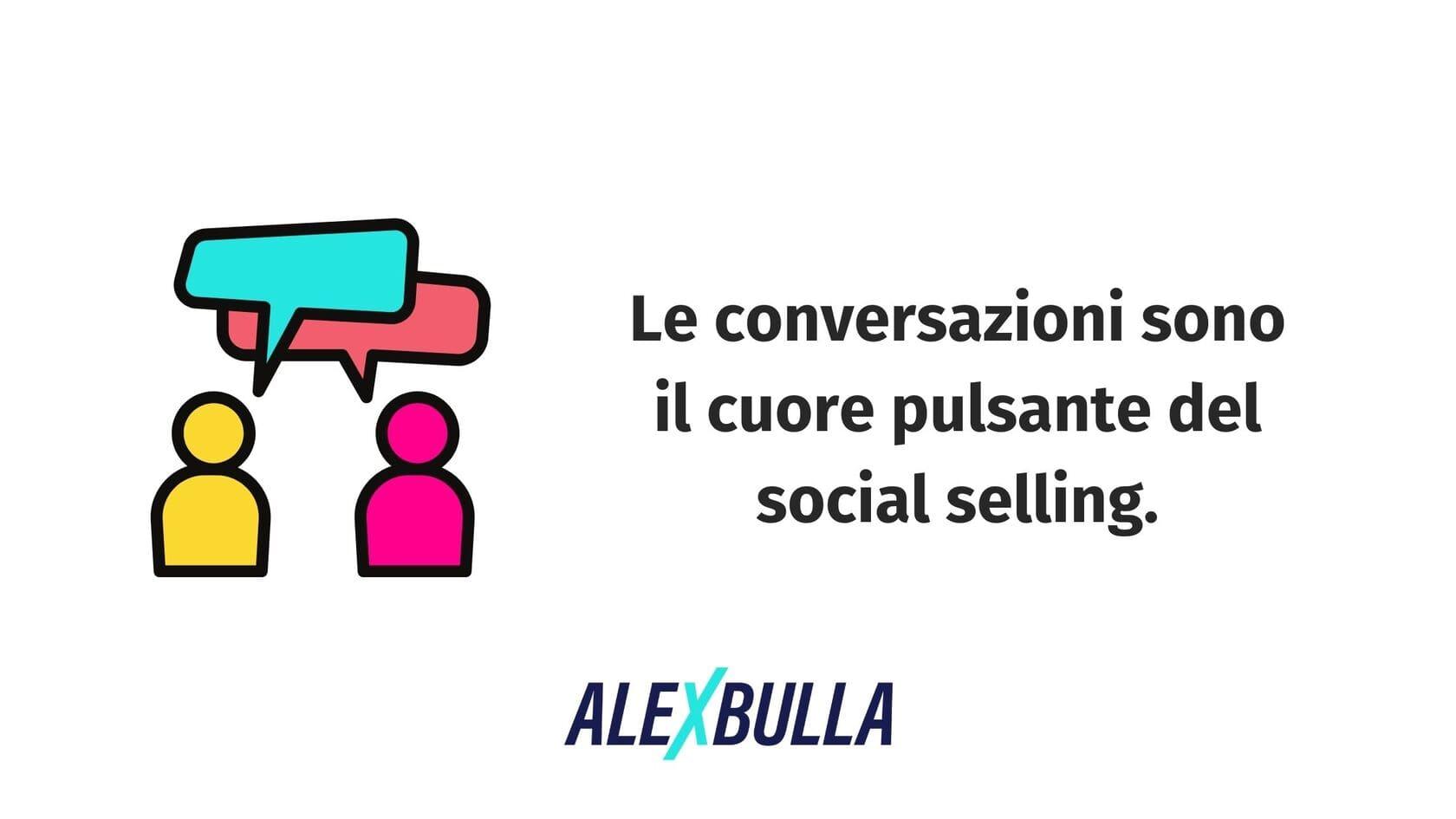 le conversazioni sono il cuore del social selling