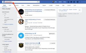 come cercare un gruppo su facebook