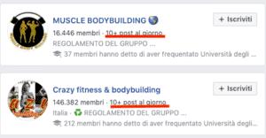 come vedere se un gruppo Facebook è attivo o meno